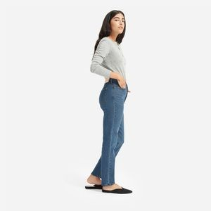 The Authentic Stretch High-Rise Cigarette Jean